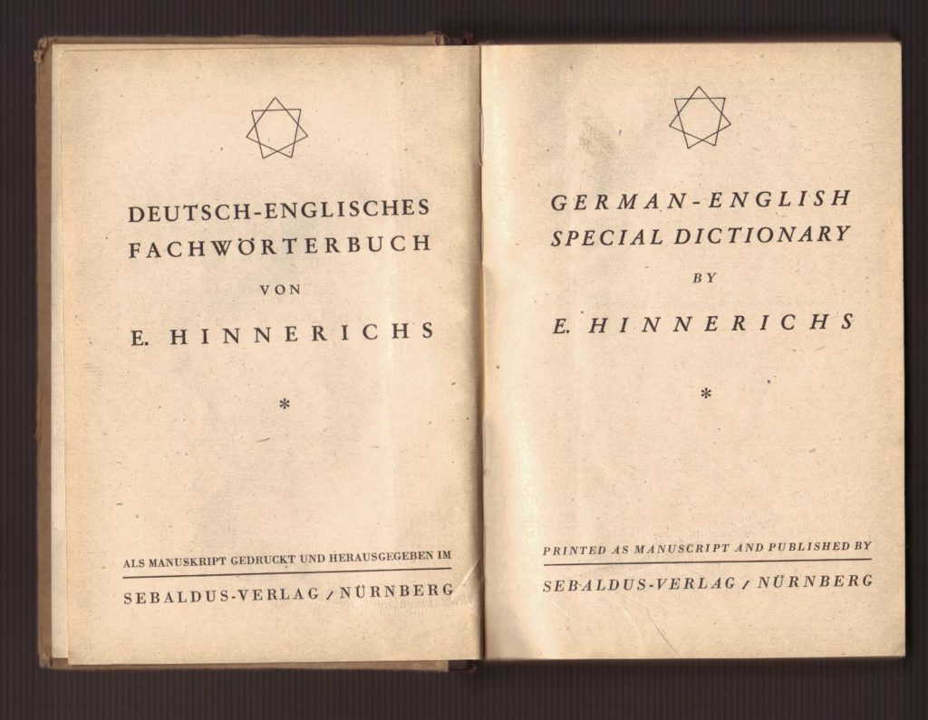 Historic Dictionary A Z Translations