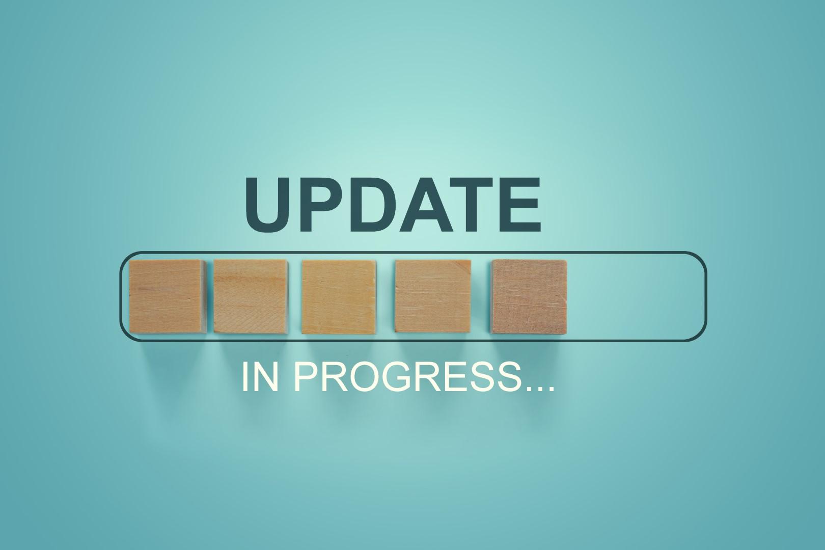 Updates, updates, updates